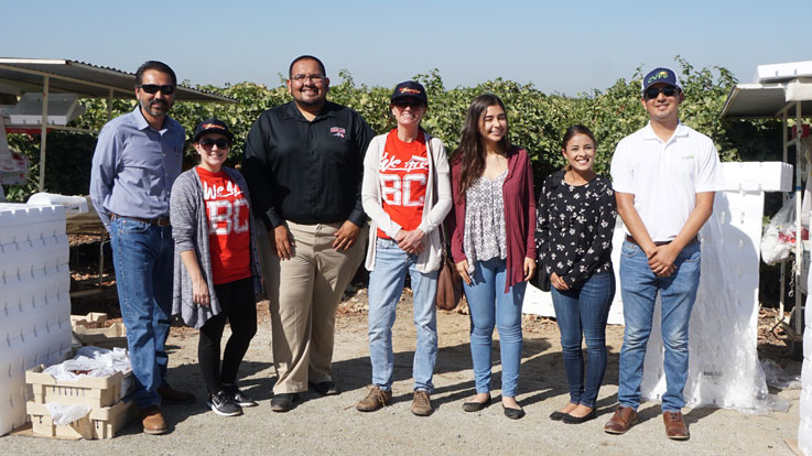 Adult Education Staff at Jasmine Vineyards