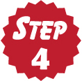 Step 4 red circle icon