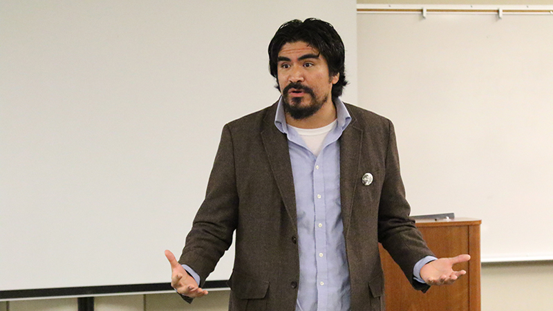 Oliver Rosales (BC Professor of History; Social Justice Institute Coordinator)