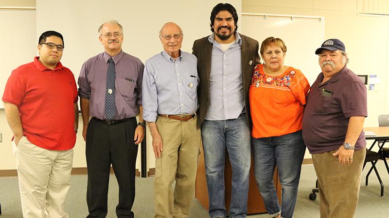 Gustavo Aguirre Jr., John Giertz, Jack Hernandez, Oliver Rosales, Rosanna Esparza, Lupe Martine