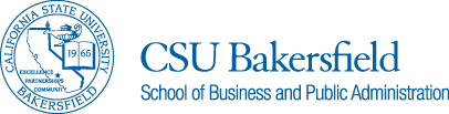 CSUB School of Business and Public Administration Logo