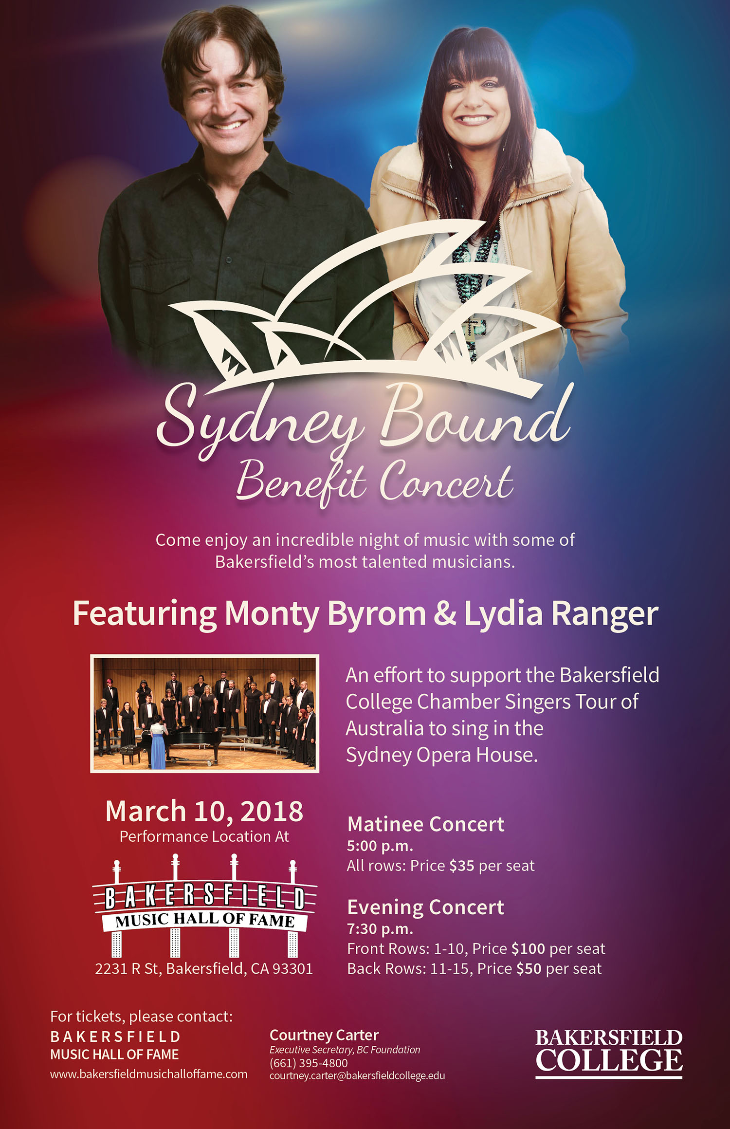 Chamber Singers Event Poster