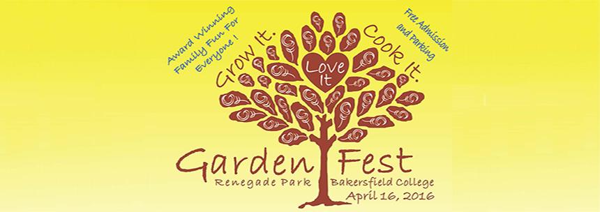 Garden Fest: April 16, 2016