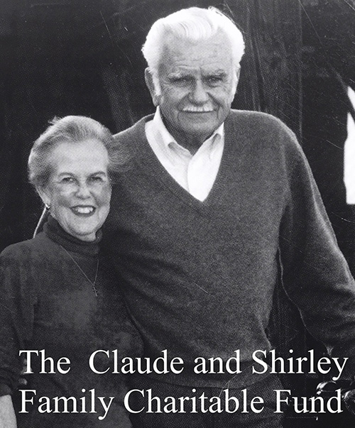 Logo for Claude and Shirley Family Charitable Fund