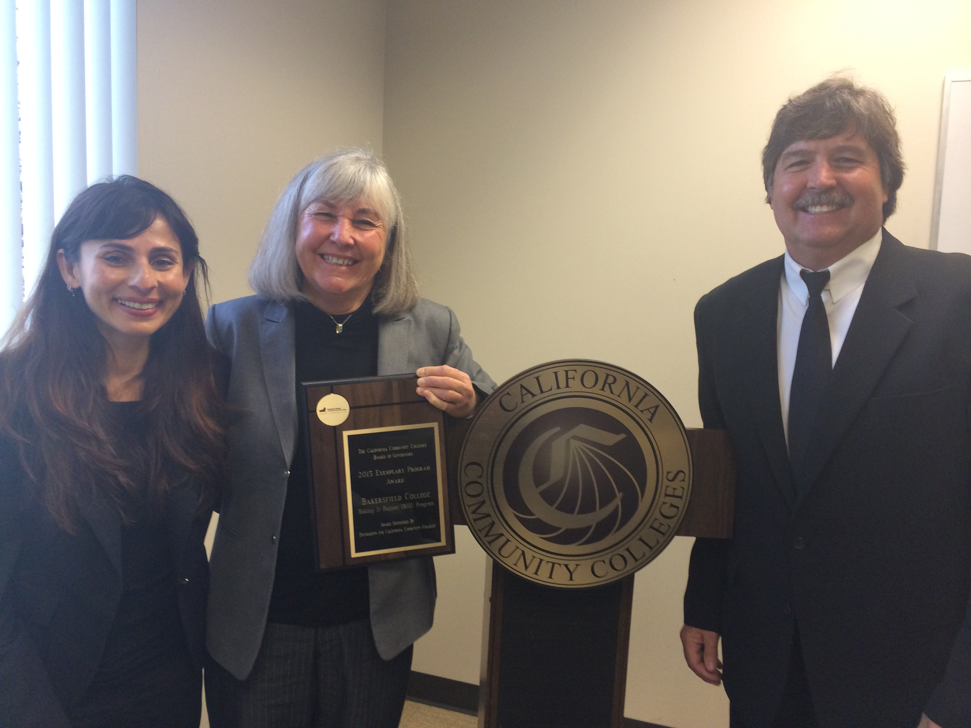 BC receives 2015 Board of Governors' Exemplary Program Award