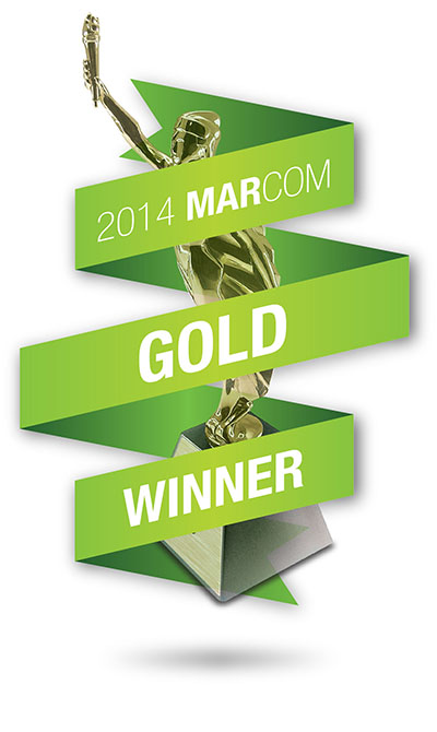 Marcom Gold Site Award Logo