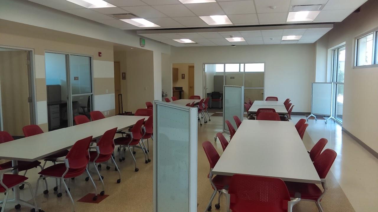 Inside of STEM Center