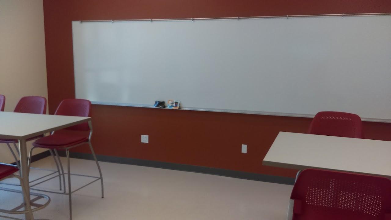 Classroom inside STEM Center