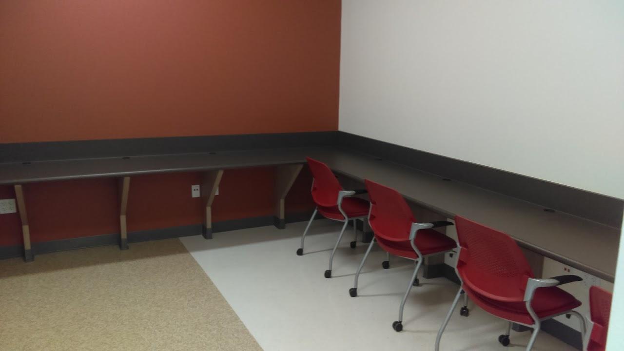 Computer lab inside STEM Center