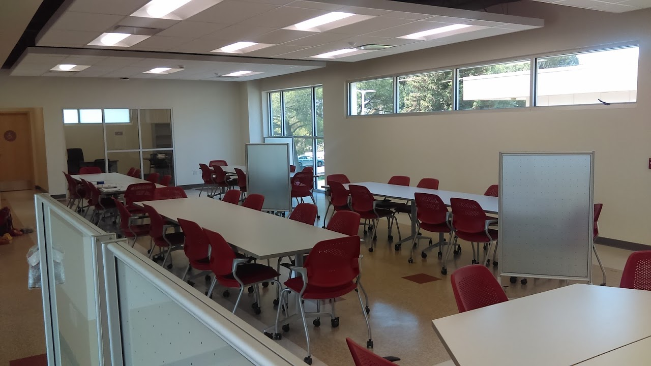 Interior of STEM Center