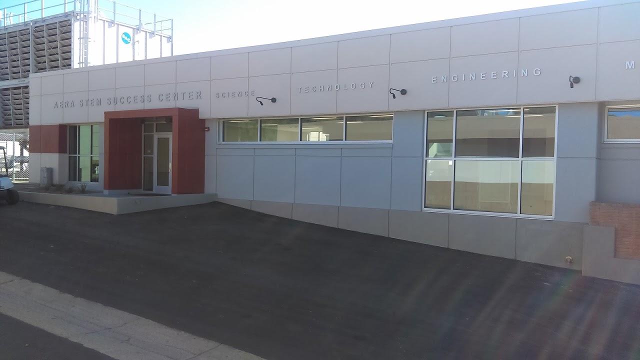 New STEM Center Outside