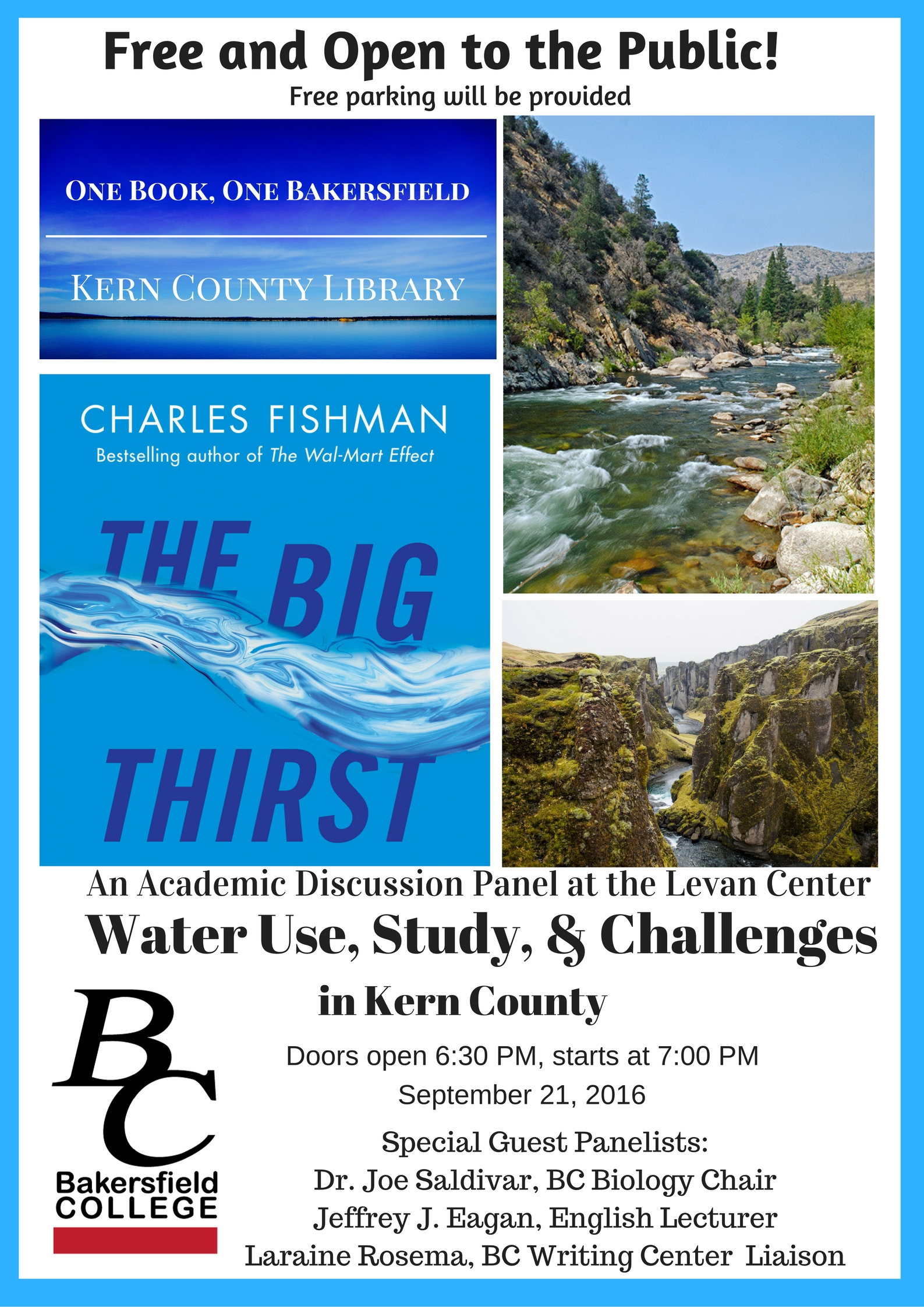 Water Use, Study and Challenges in Kern County