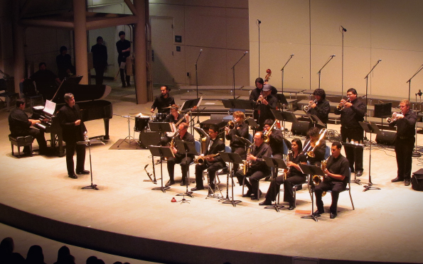BC Jazz Ensemble, spring 2015