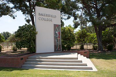Bakersfield College Sign