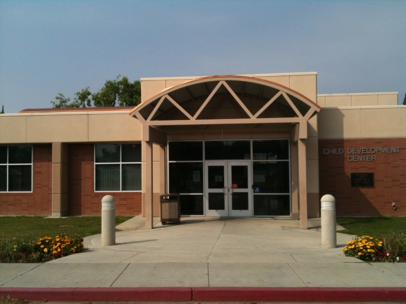 Entrance to the Bakersfield College Child Development Center Administration Building