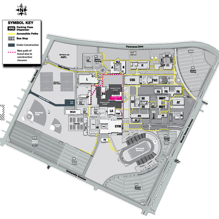 Construction Maps | Bakersfield College