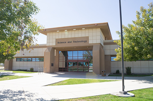 Science and Technology building at the Delano campus