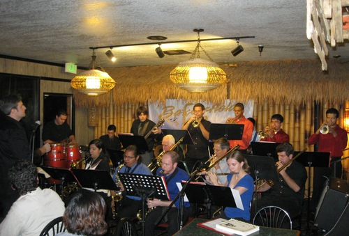 BC Jazz Ensemble performs at the Bakersfield Jazz Workshop