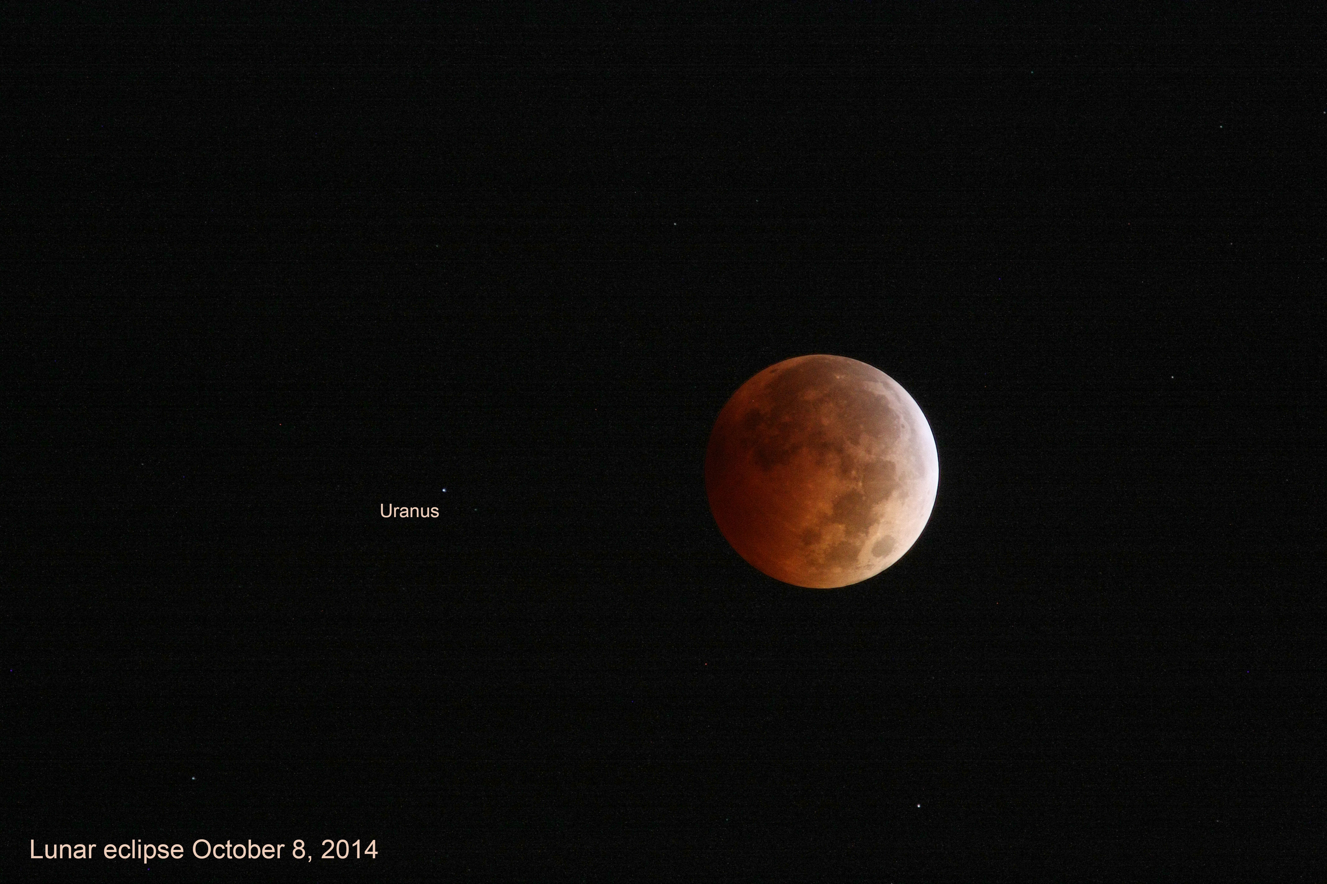 Total lunar eclipse of October 2014 (click to select full-size image)