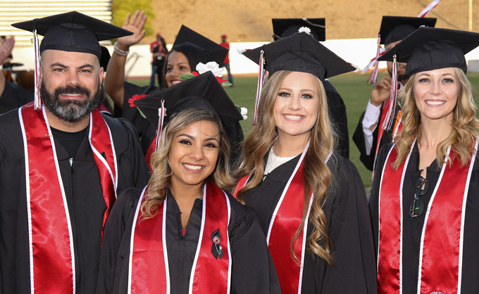 Group of Bakersfield College graduates