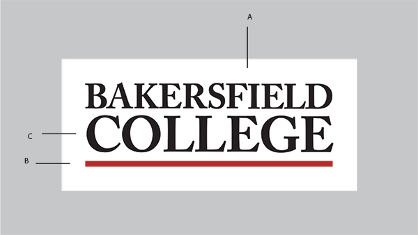 Anatomy of Bakersfield College's logo.