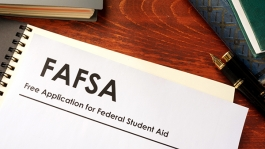 Time to fill out your FAFSA.