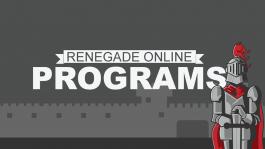 Renegade Online Programs