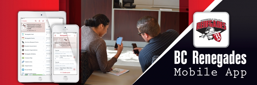 Mobile App Promo with two people using the app on their phone