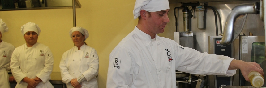 Culinary Class Students Cooking