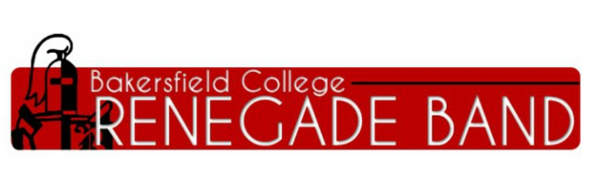 Bakersfield College Renegade Band header image
