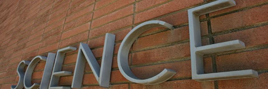 Science building logo