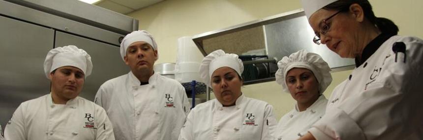 BC Culinary students