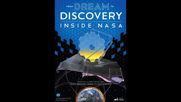 From Dream to Discovery: Inside NASA poster banner