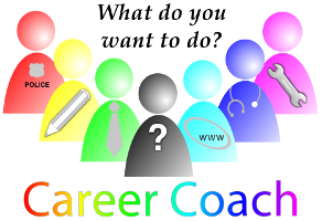 What do you want to do? Career Coach.