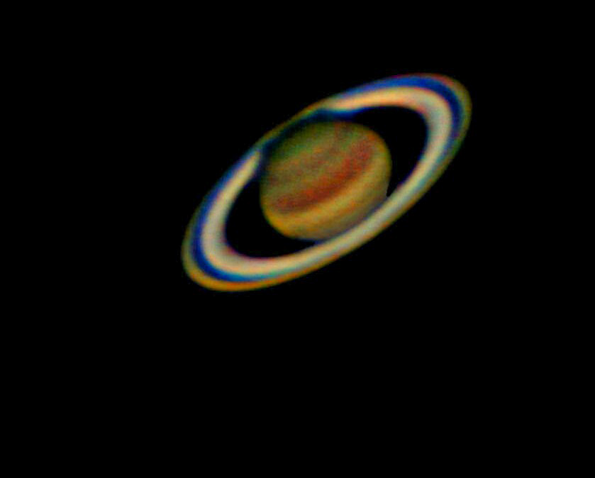 Saturn by Cerro Coso student Chris Watson