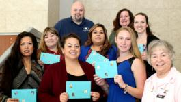Pink Ladies Auxiliary Awards Scholarships to Nursing Students