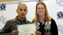 Rivera Outstanding Student for East Kern Center
