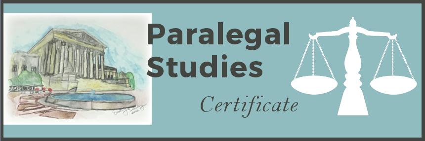 Paralegal Studies Certificate