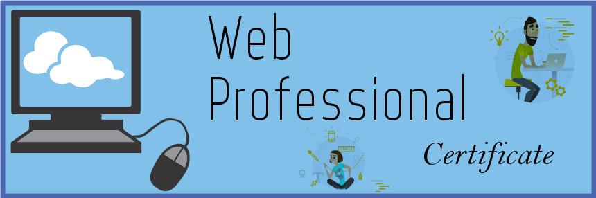 Web Professional Certificate