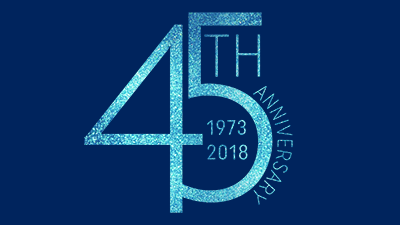 45th Anniversary 1973-2018
