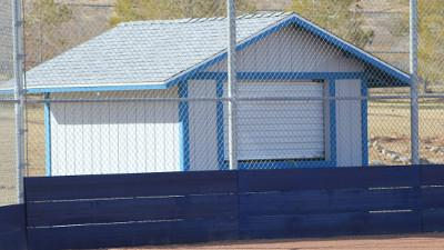 Softball Gets New Press Box