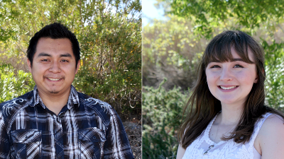 Enrique Carrillo-Sulub and Kelsey Hire