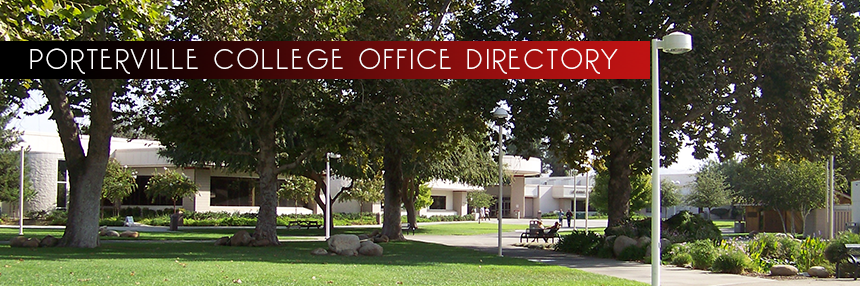 Porterville College Office Directory